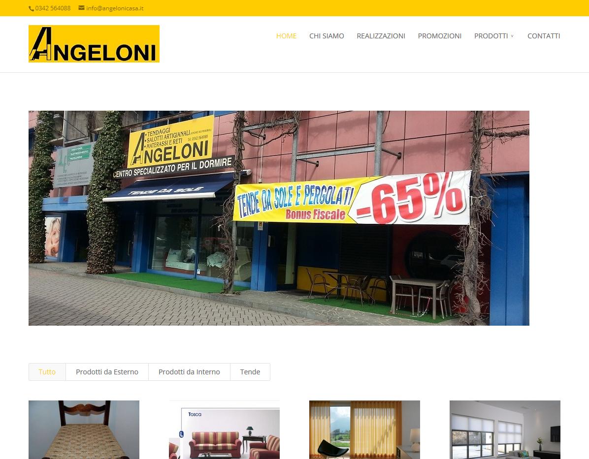 Realizzazione sito a Sondrio