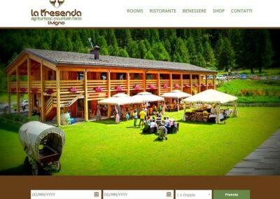 Realizzazione sito Agriturismo