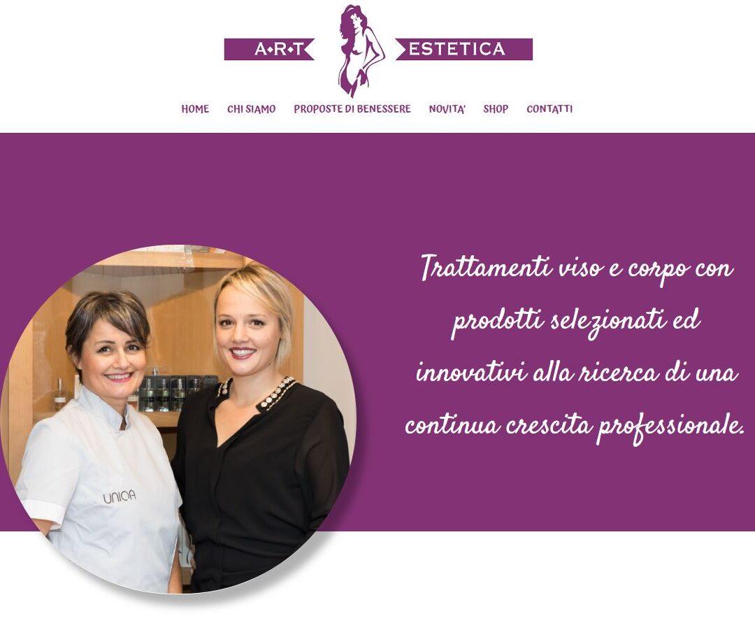 Realizzazione sito web per Centro Estetico