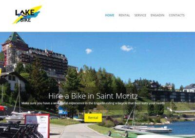 Realizzazione sito per noleggio Bike