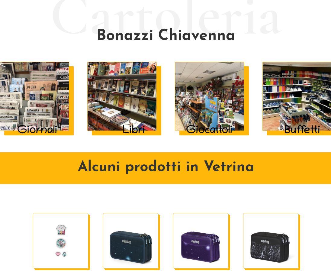 Realizzazione sito Ecommerce Cartoleria Chiavenna